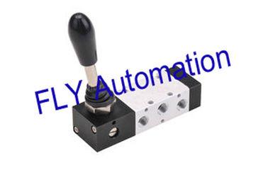 China Válvula manual de la palanca de la mano de la válvula de control direccional de HLV322N-06S 5-Way proveedor