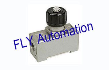 China Aleación de aluminio neumática de las válvulas de control de flujo de aire de la manera de la aduana AS-02 uno proveedor