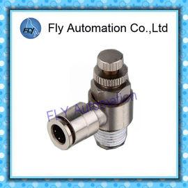 China Serie niquelada del SC de las colocaciones de tubo neumático de la válvula de control del metal proveedor