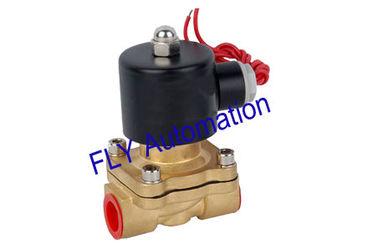 China 16 mm orificio Unid 2 válvulas solenoide presión de manera latón agua 2W160-15 proveedor