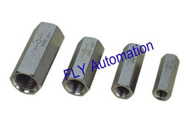 China Válvulas de Control de flujo de aire de latón aluminio verificación CV-01, 02 CV, CV-03, CV-04 proveedor