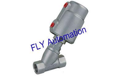 """China 1,5"""" 2000 tipos 178692 válvula roscada actuador de Seat del ángulo de la manera del puerto 2/2 del PPS proveedor"""