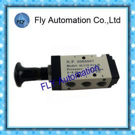 China válvula de vaivén de 4L110-013-S 4L110-014-S, válvula manual neumática del drenaje de la mano NPT1/8 proveedor