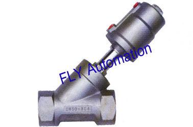 """China 2"""" 2000 tipos 001239 válvula roscada actuador de Seat del ángulo de la manera del puerto 2/2 del PPS proveedor"""