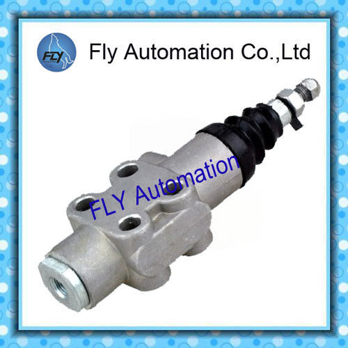 F22 3 / 2 Way Dump Truck Controls Aluminum Hydraulic Limiting Valve