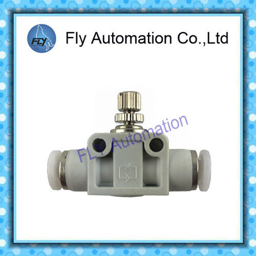 Festo Speed Control Fittings Inline Flow Control Valve With QS Push - In Connector
