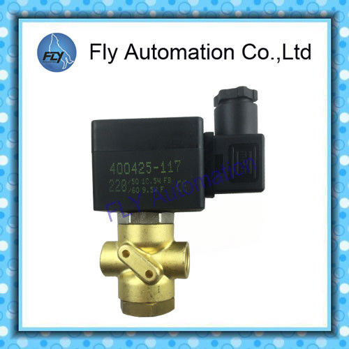 3/2 Way Direct Operated In-Line Brass Pipe Connection Pneumatic Solenoid Valves ASCO SCB320B174
