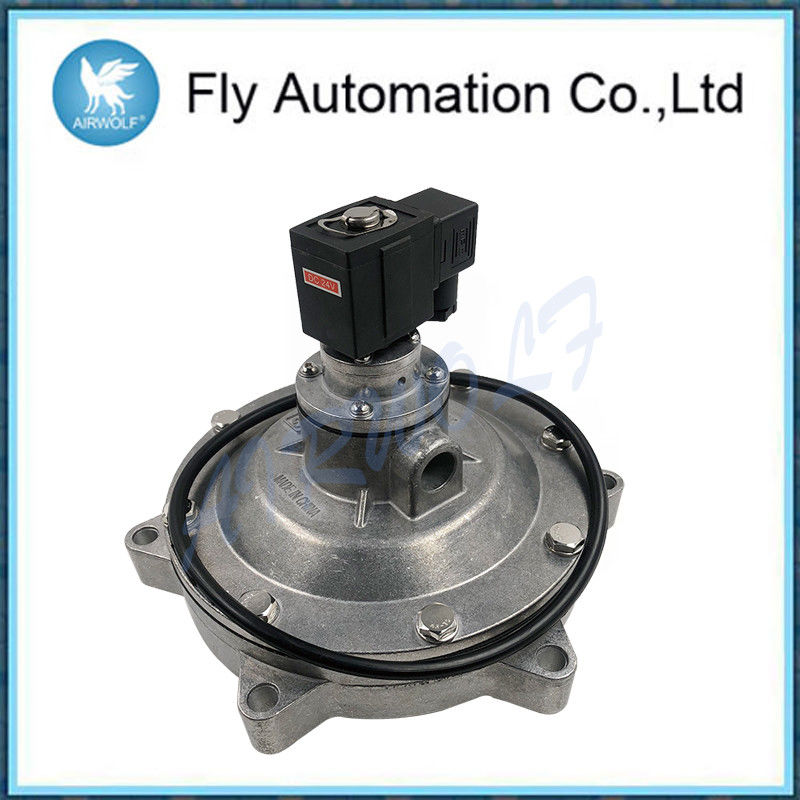 Silvery Submerged Type Pulse Jet Valves DCF-Y-76 With CE Certificate