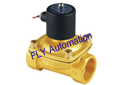 NBR or EPDM Seal Unid 2 Ways Brass Zinc Alloy Electrical Water Solenoid Valves 2W500-50