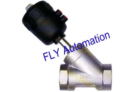 "PA Actuator 2.5"" 2000 001373 Threaded Port 2/2 Way Angle Seat Valve"