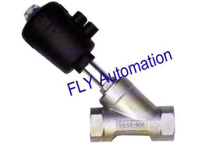 "PA Actuator 1.25"" 2000 178693,187840 Threaded Port 2/2 Way Angle Seat Valve"