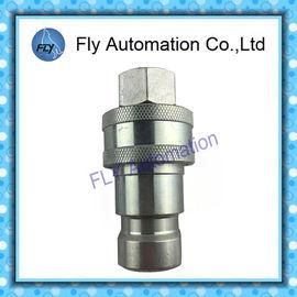 China Fines generales acoplamientos rápidos hidráulicos manuales de la válvula de válvula de disco con movimiento vertical de la manga de la serie B de 60 series ISO7241-1 distribuidor