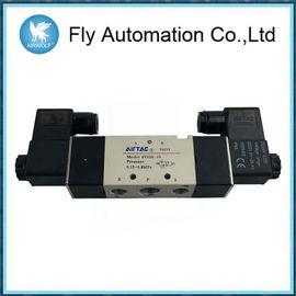 Válvulas electromagnéticas neumáticas Airtac 4M320-08 4M320-10 AC220V DC24V de 5/2 bobina doble de la manera