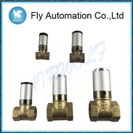 """Q22HD-15 el 1/2"""" 2/2 válvula del latón del agua del actuador del control de aire de la válvula del tubo neumático de las maneras"""