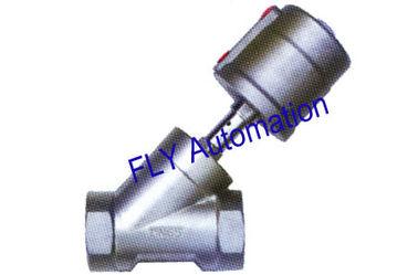 """China 2,5"""" 2000 tipos 001703 válvula roscada actuador de Seat del ángulo de la manera del puerto 2/2 del PPS distribuidor"""